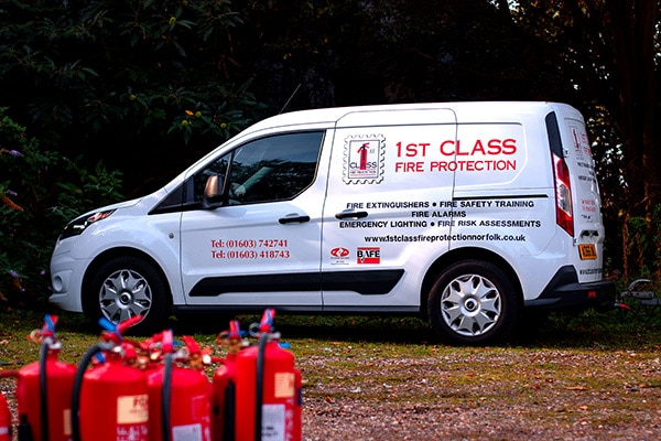 1st Class Fire Protection Safety Training