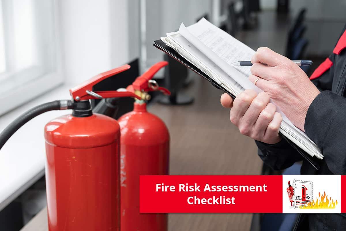 Fire Risk Assessment Checklist