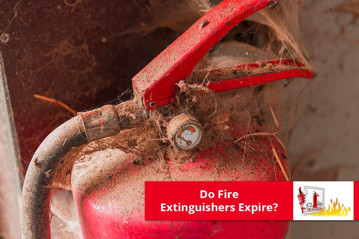 Do Fire Extinguishers expire