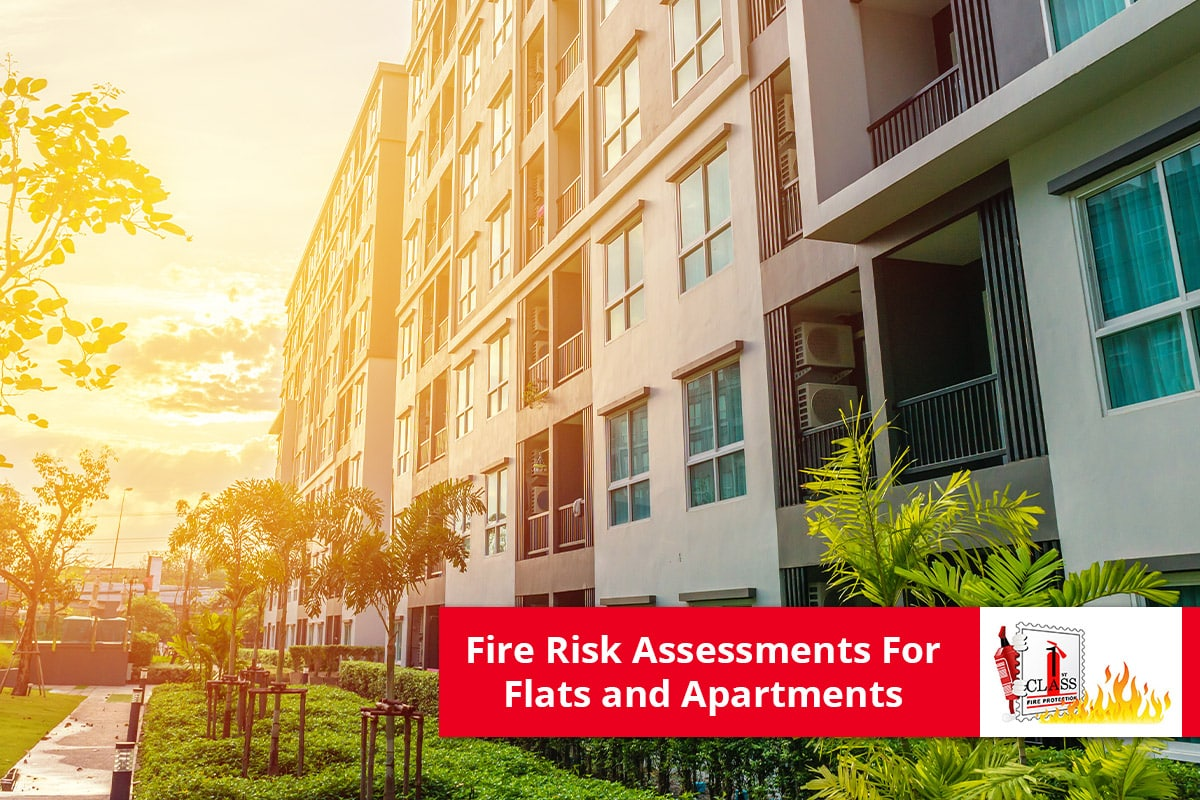 Fire risk assessments flats