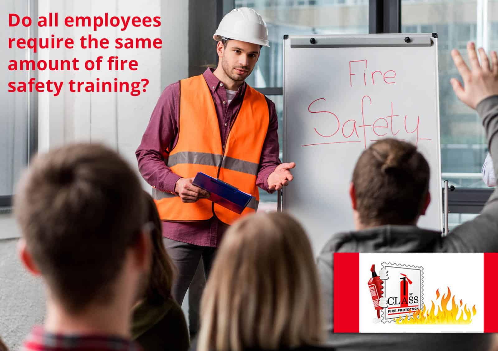 fire training onsite