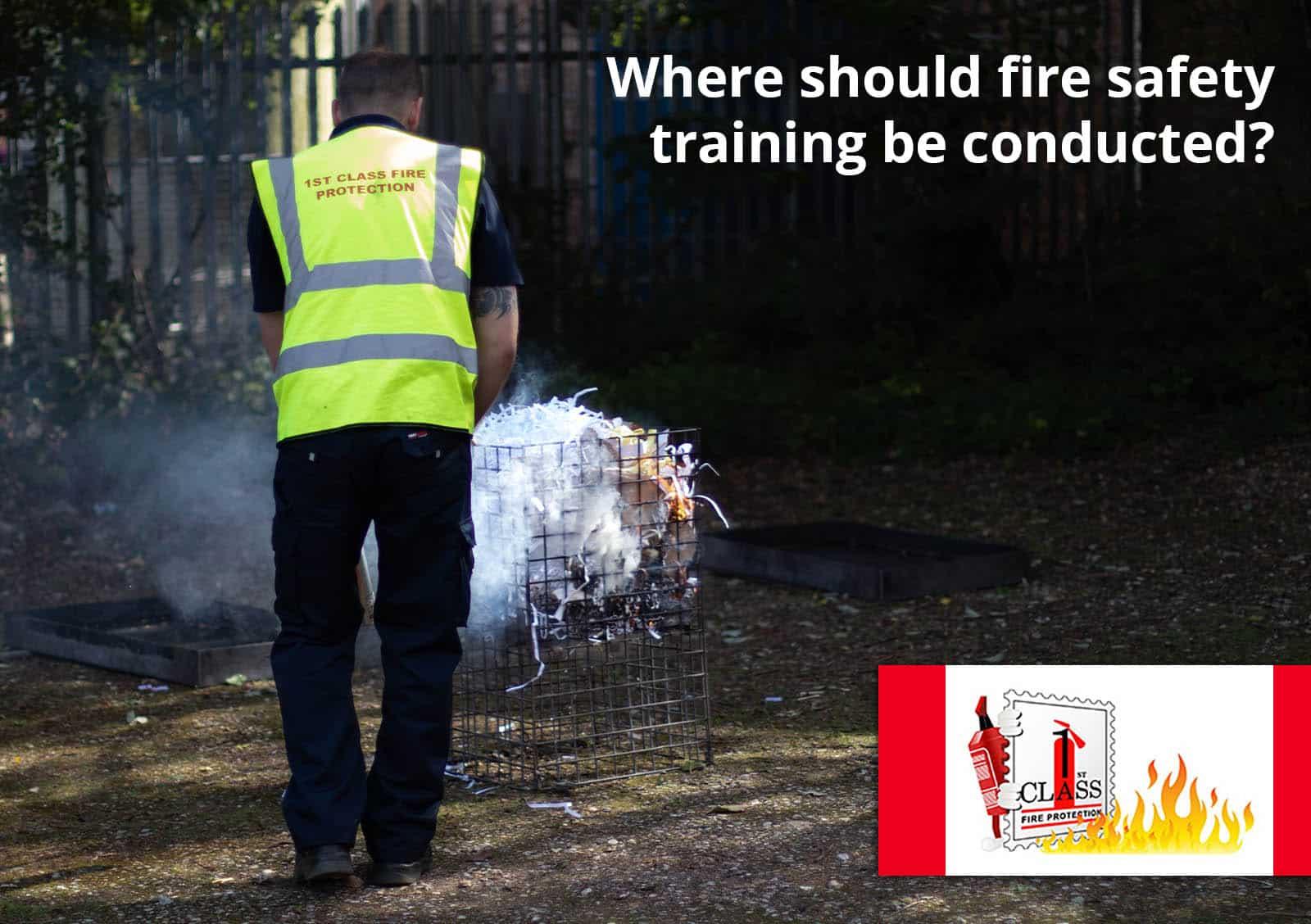 Fire Training on Premises