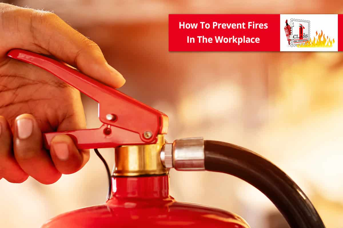 how to prevent fire in the workplace